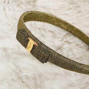 Salvatore ferragamo headband , excellent condition